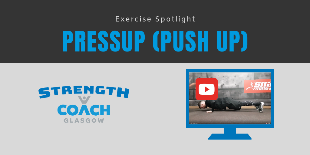 Learn to do your first pushup pressup in Glasgow