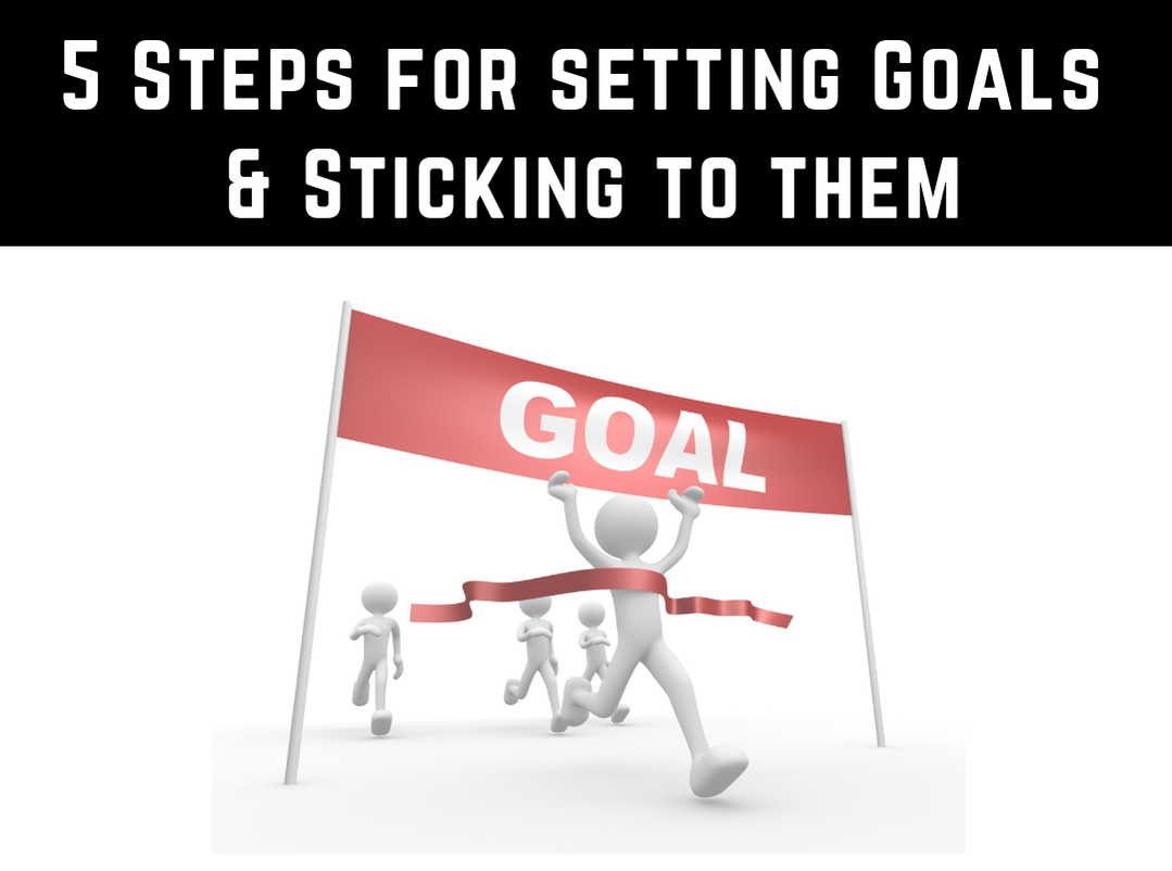 5 Steps For Setting Goals and Sticking to Them by Strength Coach Glasgow