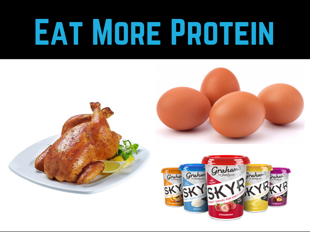 Diet Tip #3 - Eat More Protein by Strength Coach Glasgow Weight Loss Tips