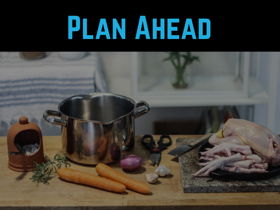 Diet Tip #2 - Plan Ahead by Strength Coach Glasgow Weight Loss Tips