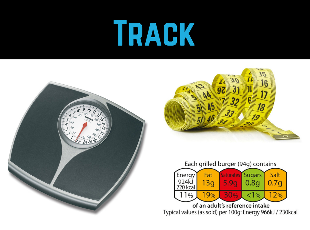 Diet Tip #1 - Track by Strength Coach Glasgow Weight Loss Tips